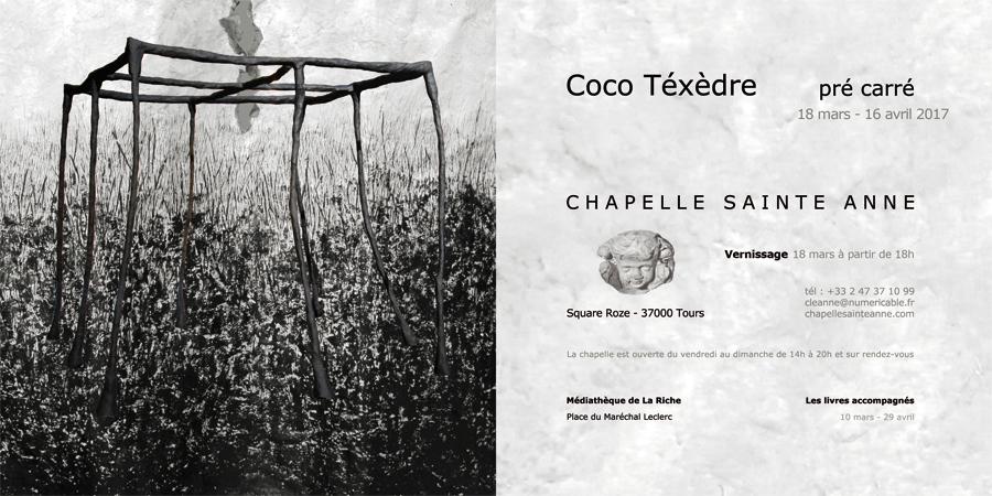Chapelle Ste Anne Coco Téxèdre 2017